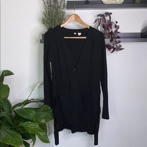 Anthropologie•Moth Black button front cardigan